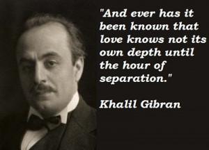 Kahlil Gibran, The Prophet