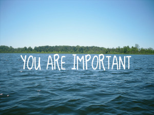 You are important - The Brook Church