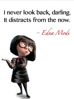 Edna Mode. Favorite character in The Incredibles other than Dash:)