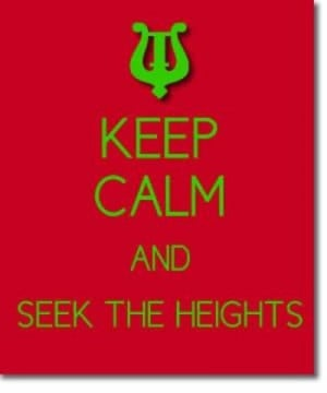 Alpha Chi Omega Sorority Sisterhood Quotes - Seek the Heights