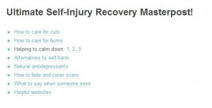 Self-Injury Recovery Quotes