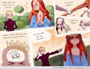 Joffrey Baratheon is pickup master