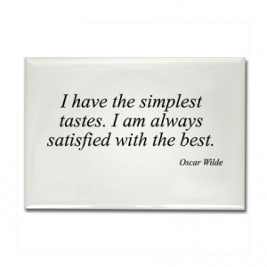 famous quote gifts famous quote magnets oscar wilde quote 8 rectangle ...
