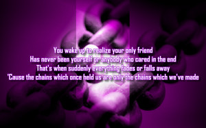 Deep Water - Jewel Song Lyric Quote in Text Image