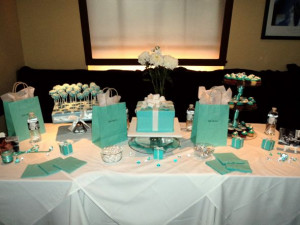 """Diva & Co"""" a Breakfast at Tiffany's Champagne Bridal Brunch"""