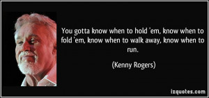 More Kenny Rogers Quotes