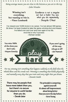 Great Quotes Sports Coaches ~ Coach Quotes on Pinterest