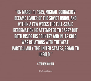 Mikhail Gorbachev Quotes