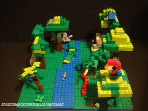 Save the Rainforest - Lego Creation