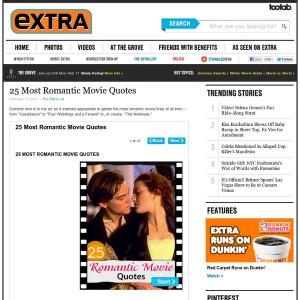 http://www.extratv.com/2011/02/14/25-most-romantic-movie-quotes/