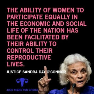 Sandra Day O' Conner quote.