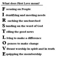First Love• ♥