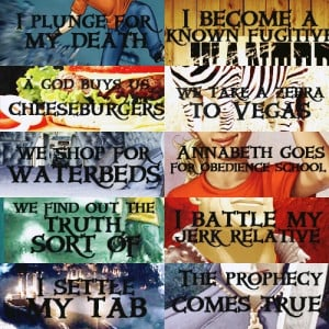 ... Rick Riordan/Percy Jackson, The Lightning Thief #Quotes by madelinem