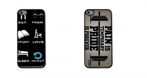 Gym-Motivational-Quotes-No-Pain-Gain-Work-PVC-Back-Cell-Phone-Cases ...