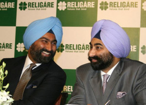 Malvinder Mohan Singh, Religare enterprises Ltd. and Shivinder Mohan ...