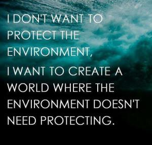 Environmental Quote