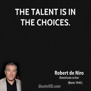 Robert De Niro Movie Quotes