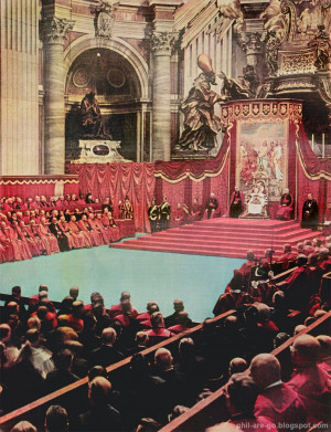 ... of the Second Vatican Council in the history of the Catholic Church