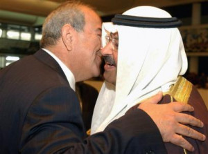 ... US appointed 39 Prime Minister 39 CIA operative Ayad Allawi kisses