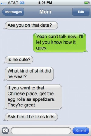 18 Hilariously Awkward Texts That Only A Mom Would Send