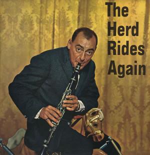 Woody Herman The Herd Rides Again UK LP RECORD TP153