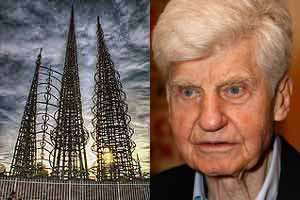 William T Cartwright helped to save Watts Towers
