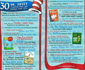 Dr. Seuss week in Kindergarten