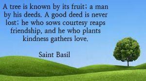 Saint Basil On Friendship