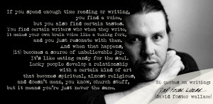 David Foster Wallace's 20 Writing Quotes