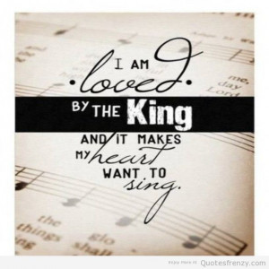sing God love king neutral Quotes
