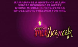 Wishing u ablessed Ramadan!