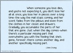 John Irving - quote -There's nothing so confusing...