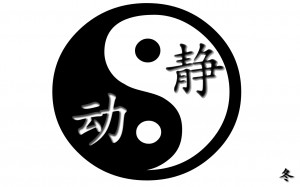 Yin Yang Quotes I recently read a quote by