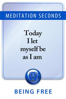 Meditation against self hatred