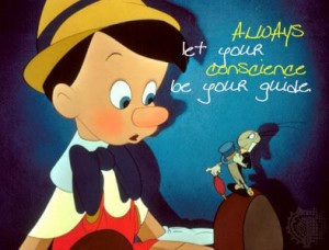 Disney Quote Pinocchio: