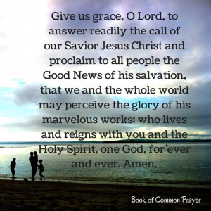 Prayer for The Third Sunday after the Epiphany Give us grace, O Lord ...