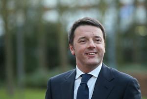Matteo Renzi Italian Prime Minister Matteo Renzi greets leaders