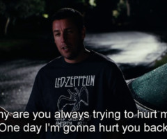Adam Sandler Quotes Adam sandler · click · hurt