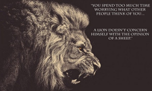 Lion Roaring Quote