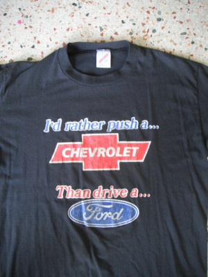 Chevy Vs Ford Funny Pictures Chevrolet vs ford - black