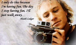 Happy Birthday Heath Ledger: 10 Quotes I Love About You