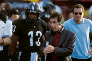 Any Given Sunday Jamie Foxx Al Pacino Dennis Quaid