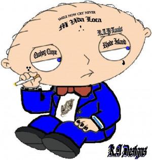 Gangster Stewie Image