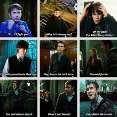 Neville Longbottom is a brave brave man// I know he is a fictional ...