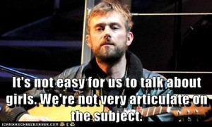 Famous Damon Albarn Quotes: Lolcatted