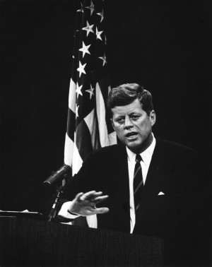 John F Kennedy Civil Rights Quotes Pictured: president kennedy