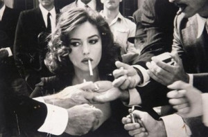 chrismas, christmas, cigarette, famous, girl, malena, men, monica ...
