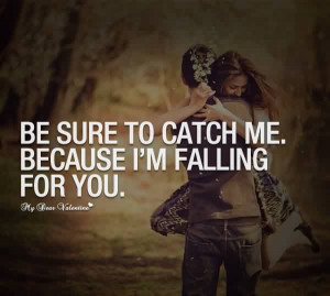 Falling In Love With You-Love Quote