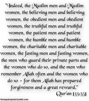 For them allah has prepared forgiveness n great... islamic quotes ...