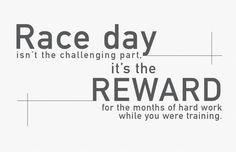 Triathlon motivation. Race day More
